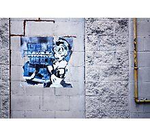 Downtown Detective Photographic Print