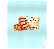 Sweet Caramel Graham Cracker Duo Poster