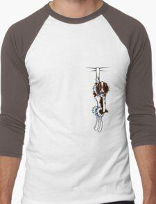 Clingy Springer Spaniel Men's Baseball ¾ T-Shirt