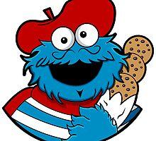 Le Cookie Monsieur by sarahbevan11