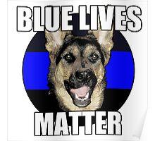 Blue Lives Matter  2 Poster