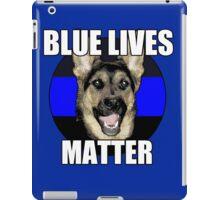Blue Lives Matter  2 iPad Case/Skin