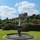 Powis Castle Fountain by Yampimon
