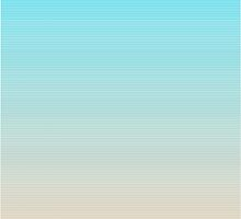 Pastel Stripes - Cutesy Digital Print by WayfarerPrints