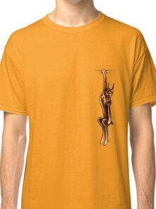 Clingy Red Rust Doberman Classic T-Shirt