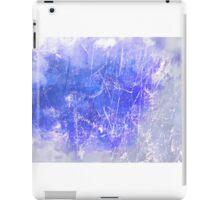 Sky blue scratches case  iPad Case/Skin