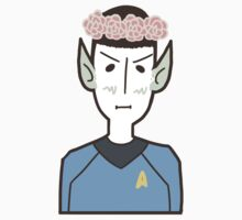 Spock w/ a Flower Crown by SwitchNow