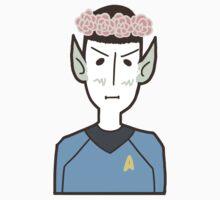 Spock w/ a Flower Crown by SwitchNow