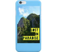 Lost in Paradise iPhone Case/Skin