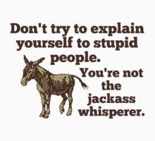 Jackass Whisperer by superstarbing