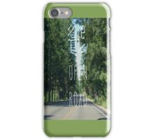 The Open Road iPhone Case/Skin