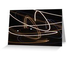 Modern Lights Greeting Card