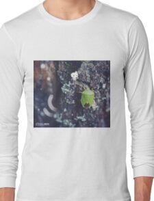 Climbing the big tree- Wandering forest 6 Long Sleeve T-Shirt
