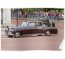 Princes' Harry & William, Kate arrive at Buckingham Palace Poster