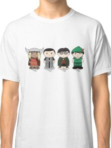 The Big Bang Theory Halloween Group Classic T-Shirt
