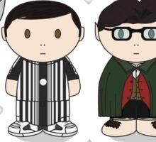 The Big Bang Theory Halloween Group Sticker