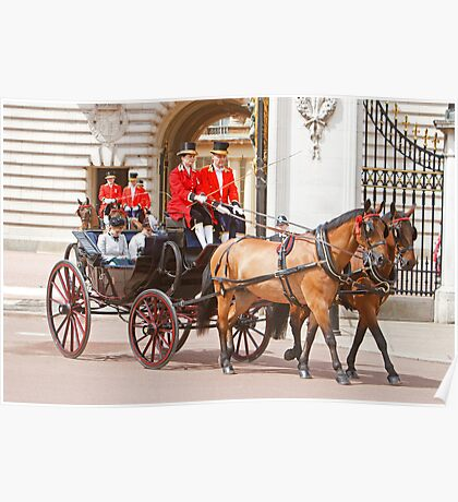 Princess' Beatrice&  Eugenie at Trooping The Colour Poster