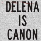 Delena is canon (black) by Belle333Black