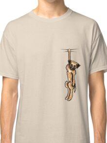 Clingy Border Terrier Classic T-Shirt