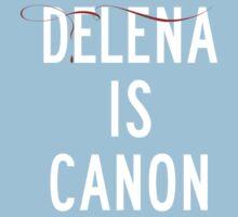 Delena is canon (white) Kids Tee