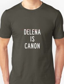Delena is canon (white) T-Shirt