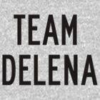 Team Delena (black) by Belle333Black
