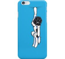 Clingy Landseer Newfie iPhone Case/Skin