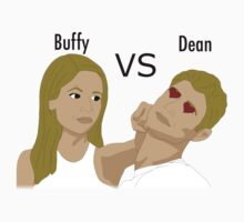 Buffy VS Dean by Becca C. Smith