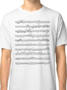 Sheet Music Tee Classic T-Shirt