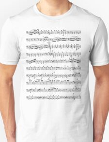 Sheet Music Tee Unisex T-Shirt