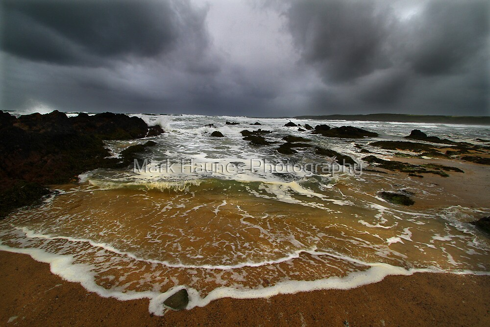 Elements Series - StormSurge, Freshwater West by Mark Haynes Photography
