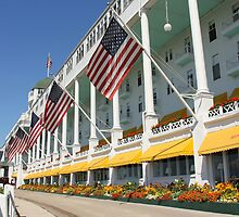 Grand Hotel Mackinaw Island by naturesangle