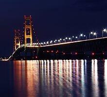Mackinaw Island Bridge by naturesangle