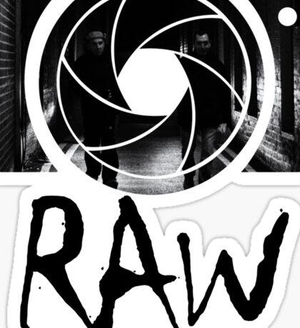 RAW Street Photography Sticker