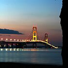 Mackinaw Island Bridge by naturesangle