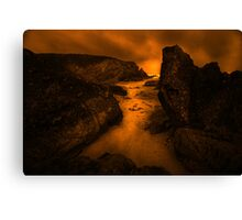Infra Red Rock 3 Canvas Print