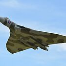 Vulcan XH558 by John Dunbar