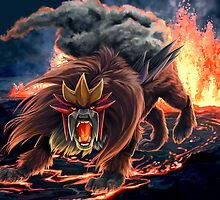Roar of Entei by Junryou