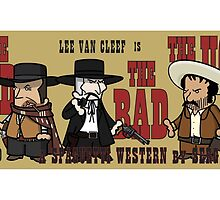 THE GOOD, THE BAD AND THE UGLY by sinropa