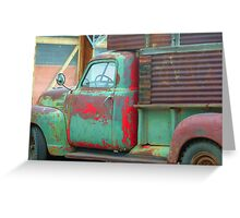 Rusty Ride Greeting Card