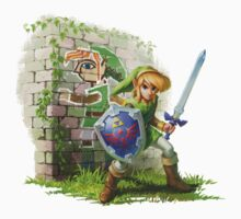 The Legend of Zelda: A Link Between Worlds - Link by Ushiromiya
