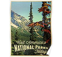 America's National Parks Poster