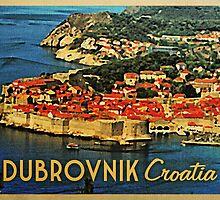 Vintage Dubrovnik Croatia by House Of Flo