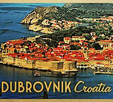 Vintage Dubrovnik Croatia by House Of Flo