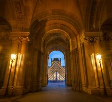 A Passage to The Louvre by Harmeet Gabha
