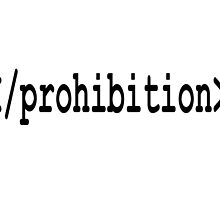 end prohibition by mouseman