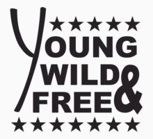 Young Wild And Free Stars Design by Style-O-Mat