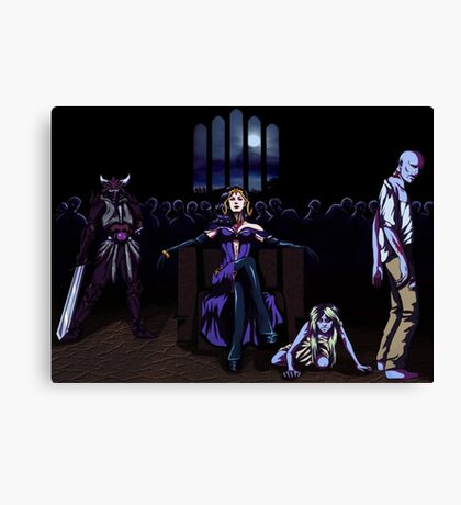 Liliana of the Horde Canvas Print