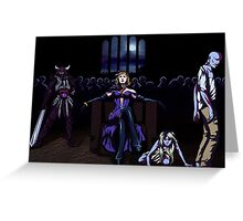 Liliana of the Horde Greeting Card