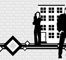 thank you card by maydaze
